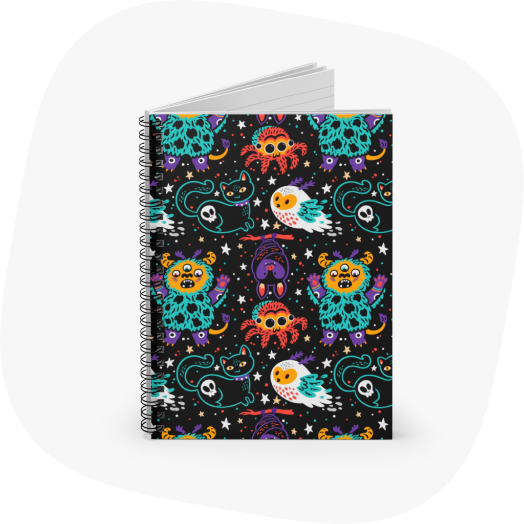 spiral notebooks to sell on etsy