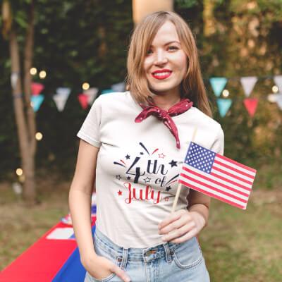 4th of July T-Shirt Design
