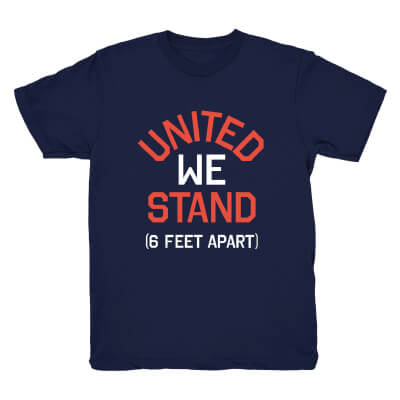 4th of July T-Shirt Socially Distanced