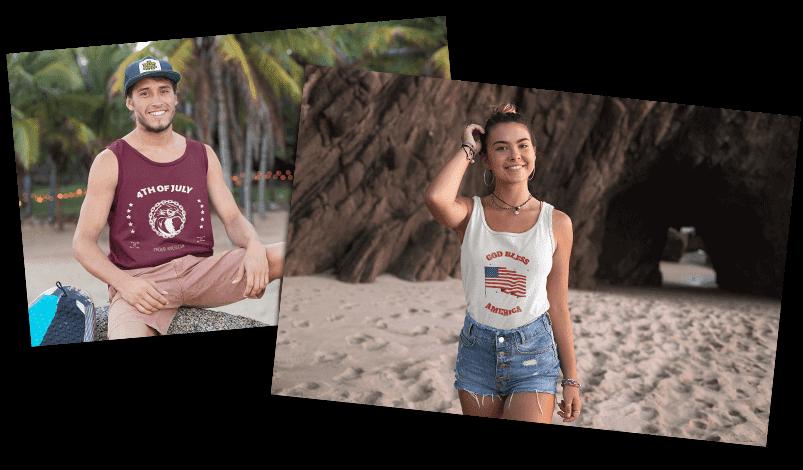 4th of July T-Shirt Summer