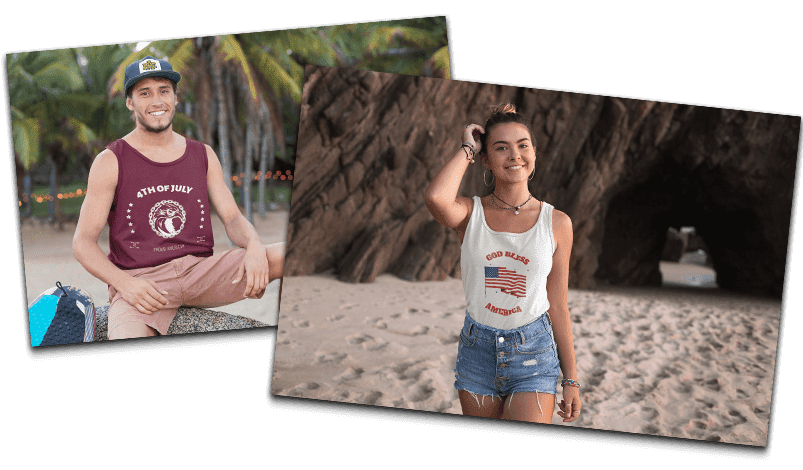 Best selling design ideas for 4th of July t-shirts in 2020 8