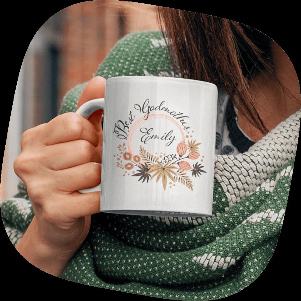 customized mug gift for grandmother