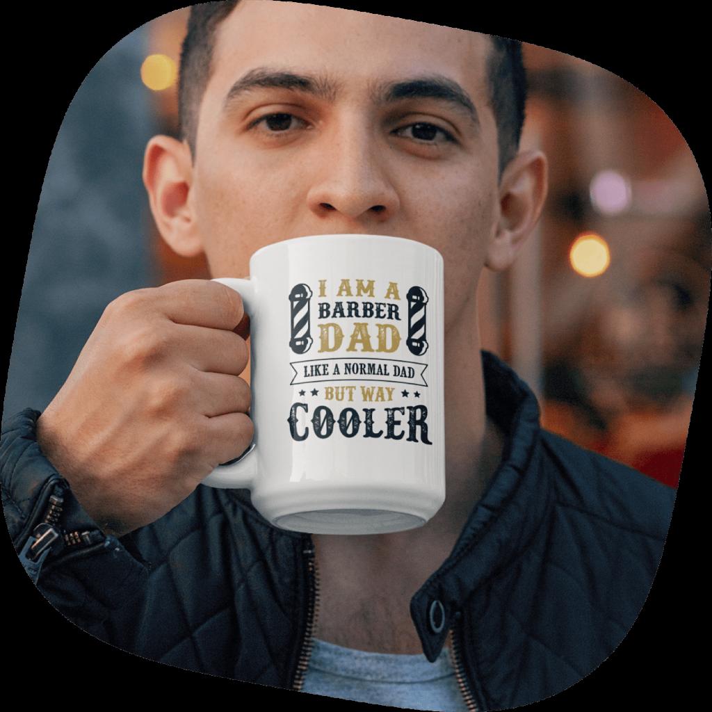 custom mug for dad