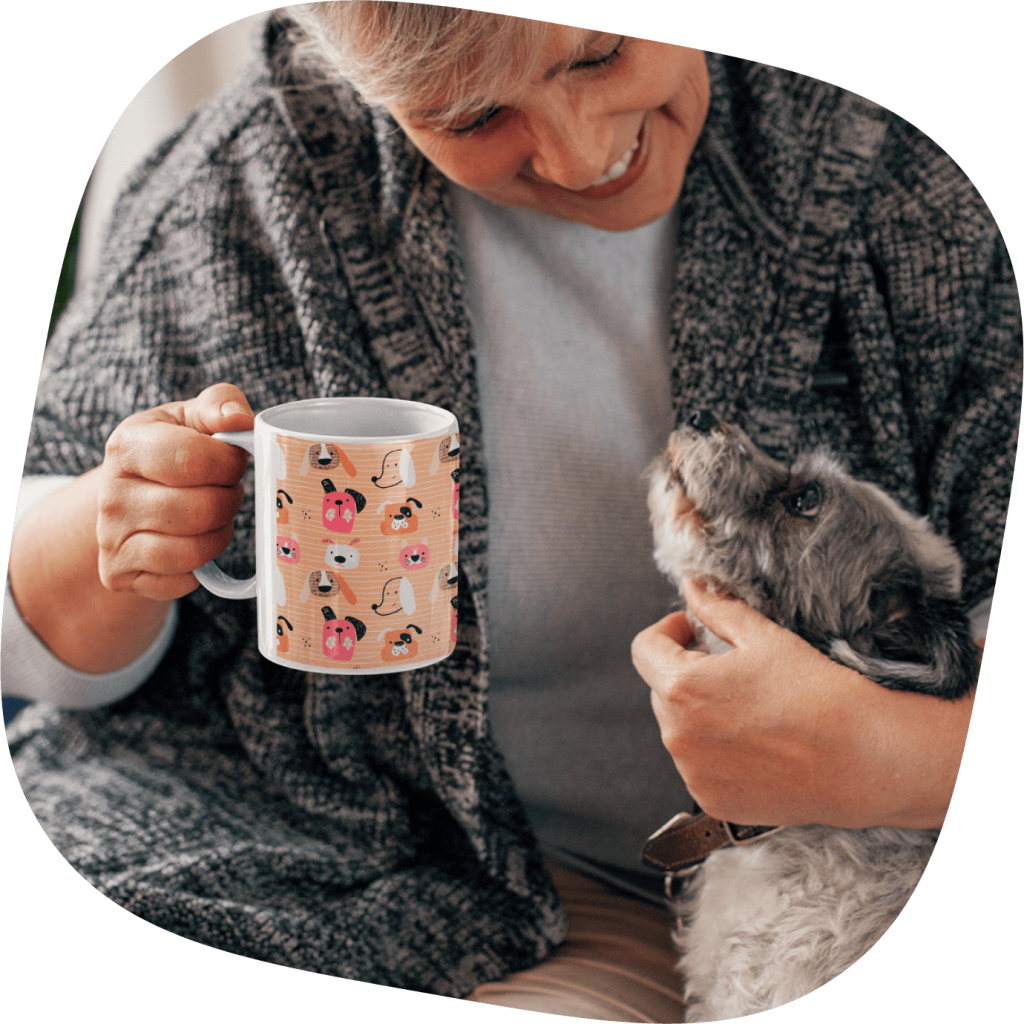 customized dog lover mug