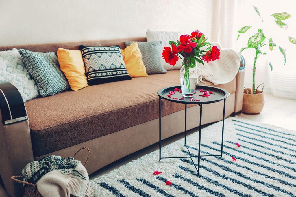 pillows as a modern home decors
