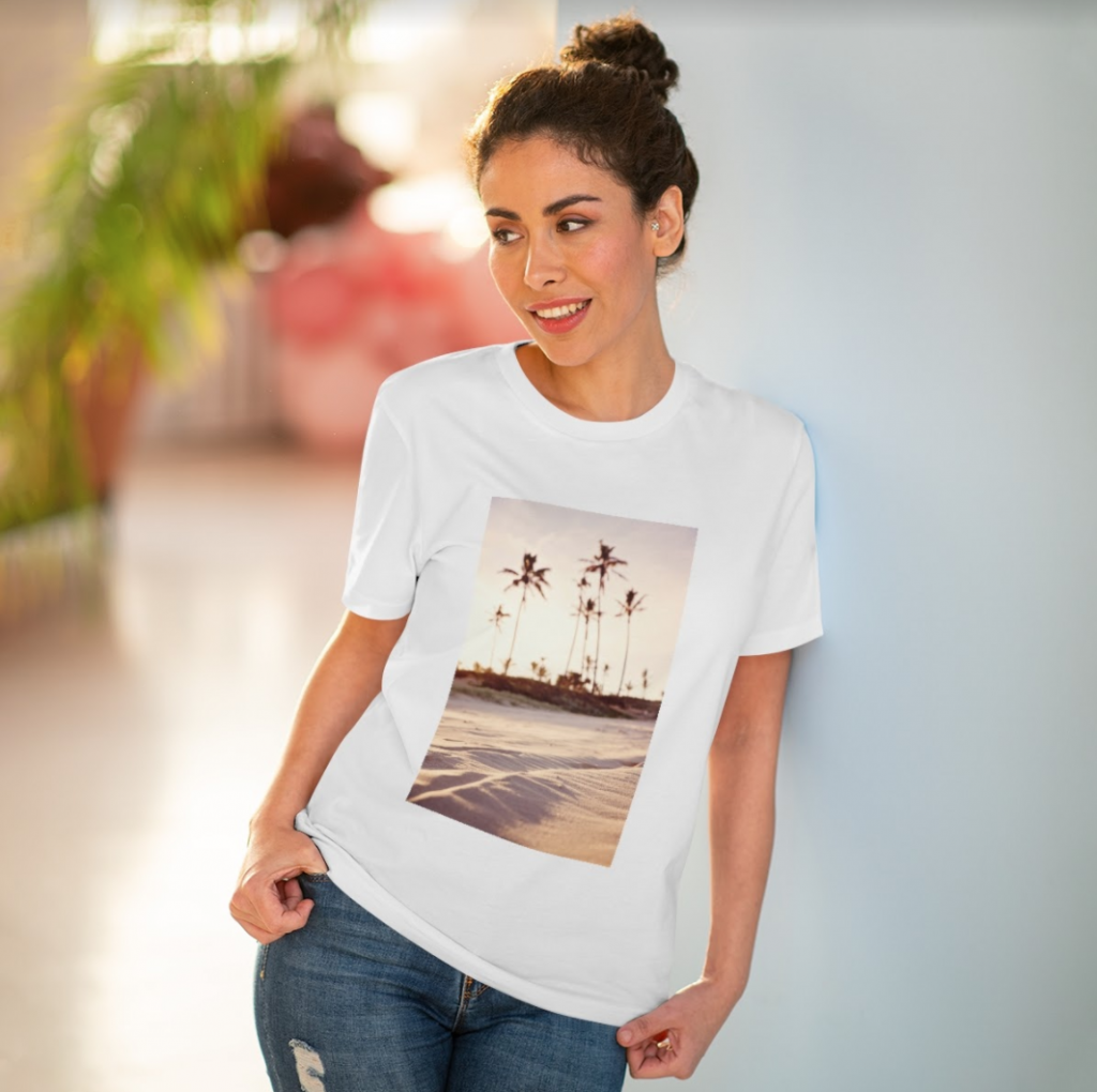 t-shirt with photography design