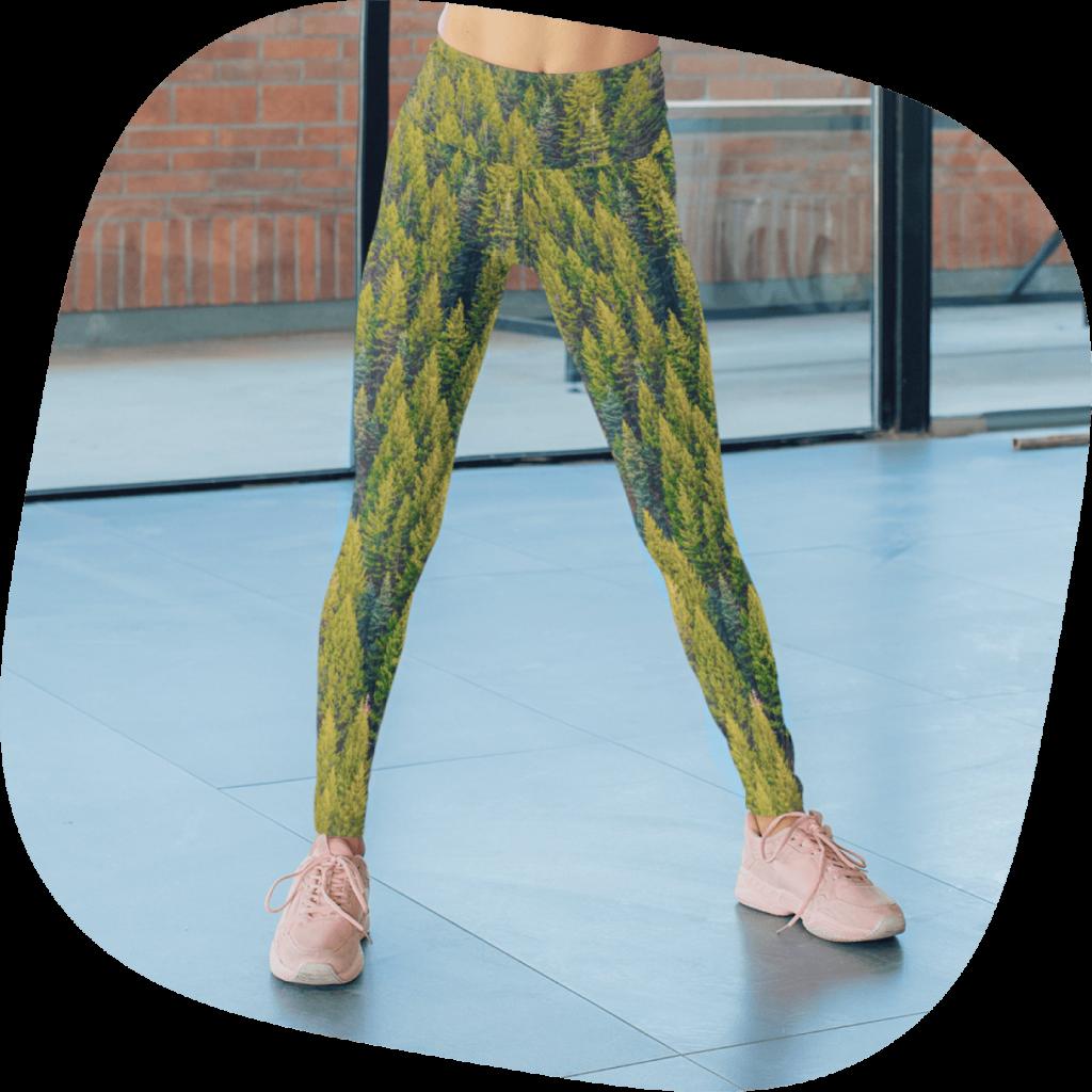 custom photo leggings
