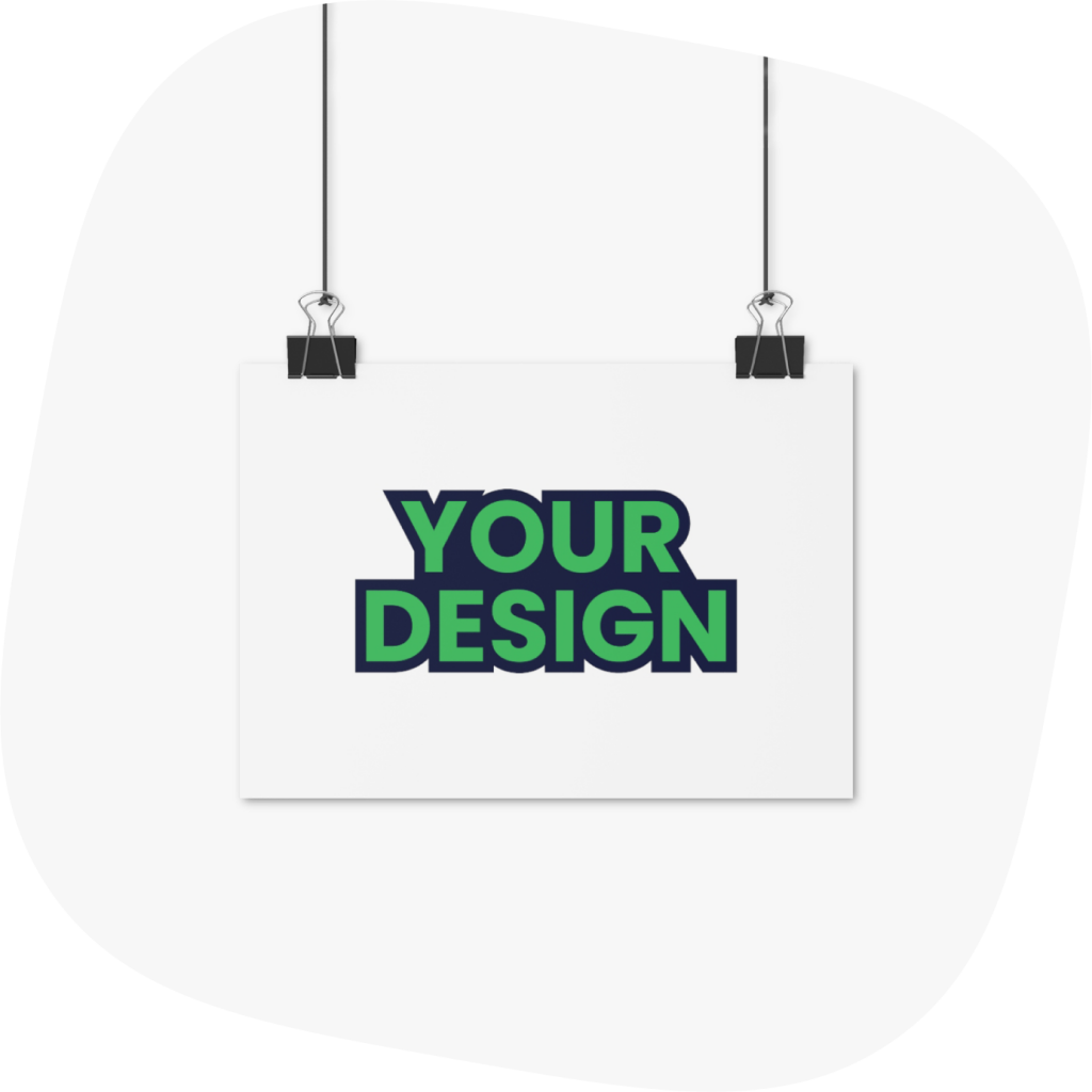 design your custom poster