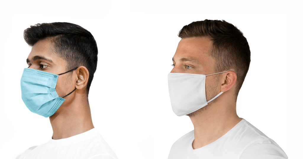 surgical face mask vs non surgical face mask