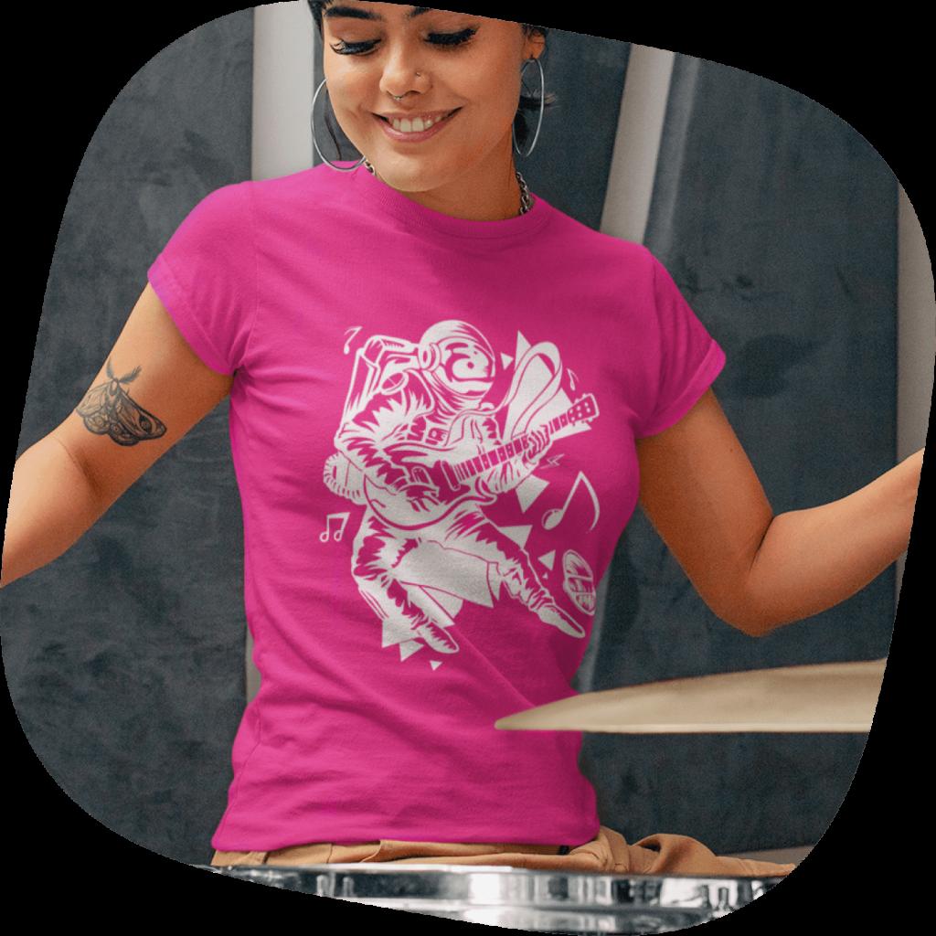 custom band merch tshirt