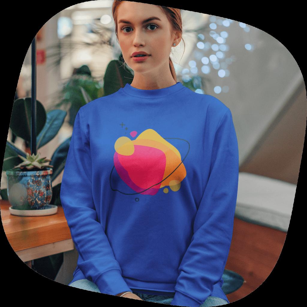 custom sweatshirts graphic