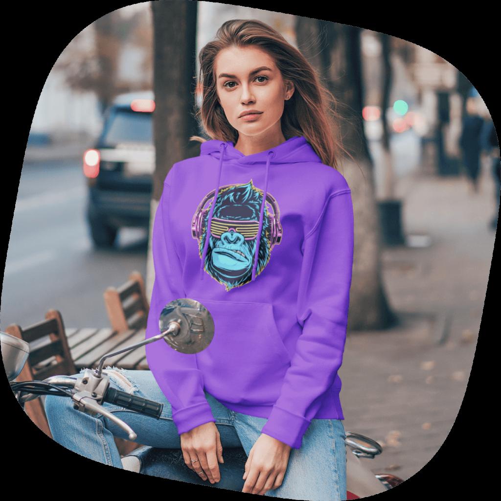 custom band merch hoodie
