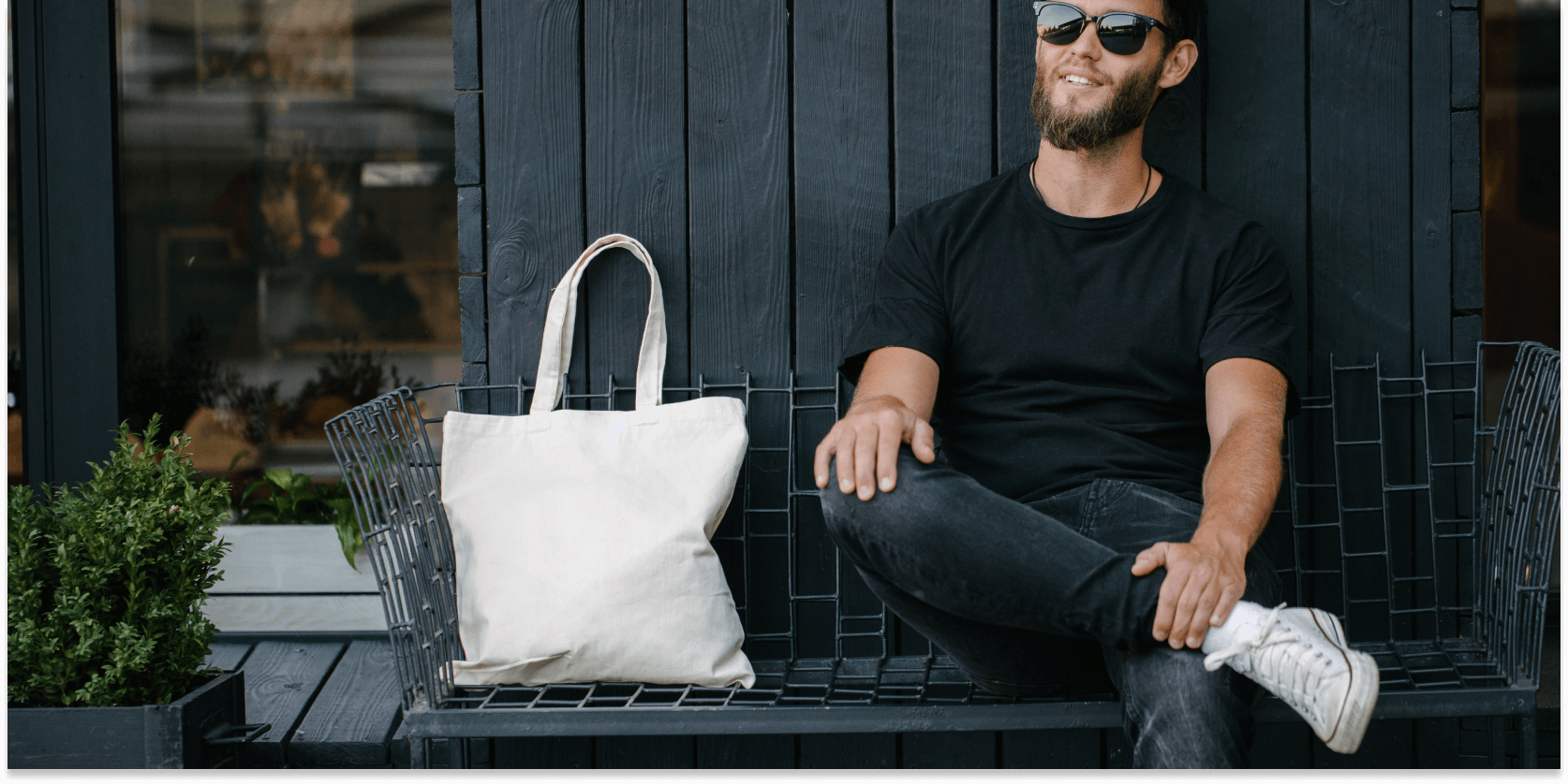 Personalized reusable grocery bags to market in 2020