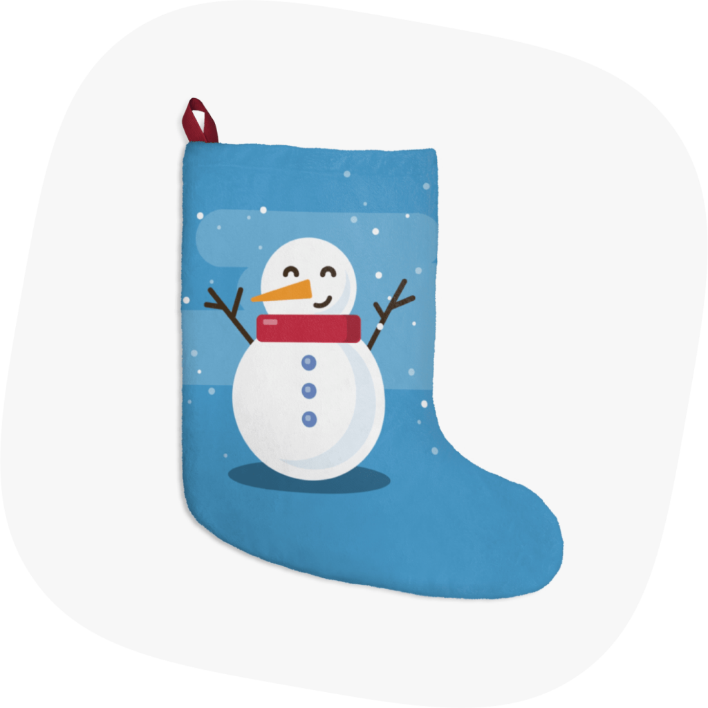 snowman christmas stockings