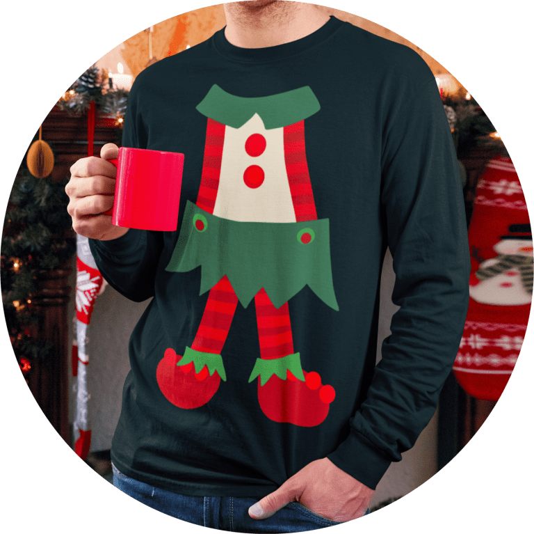custom ugly christmas sweater printing