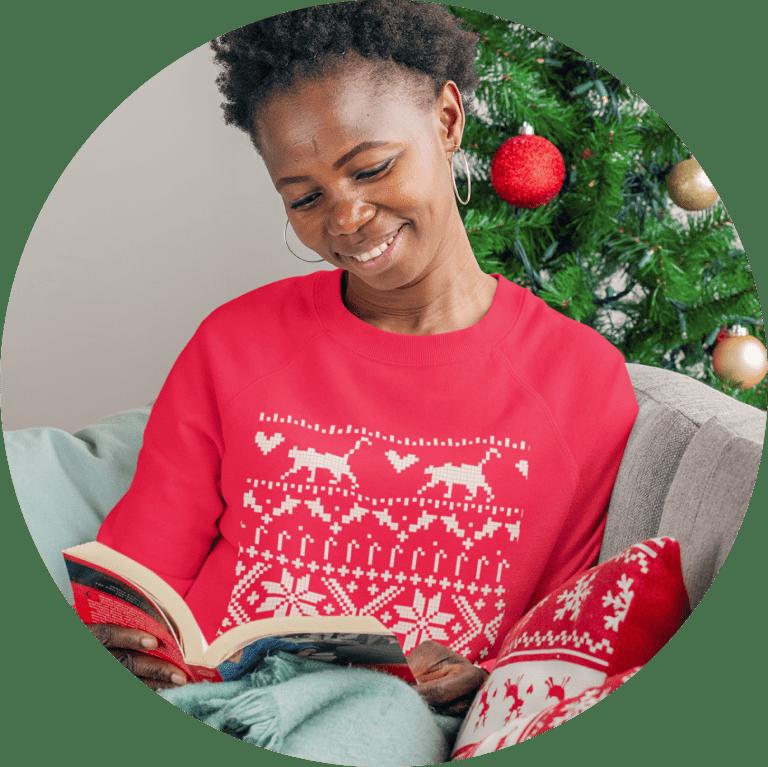 christmas sweater printing