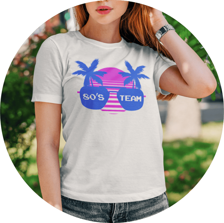 Fun 80s T-shirts