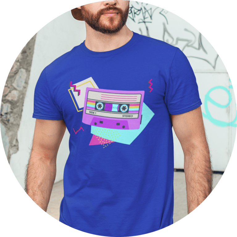 80s T-shirts Party Shirt