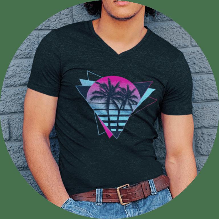 80s T-shirts Vaporwave Design