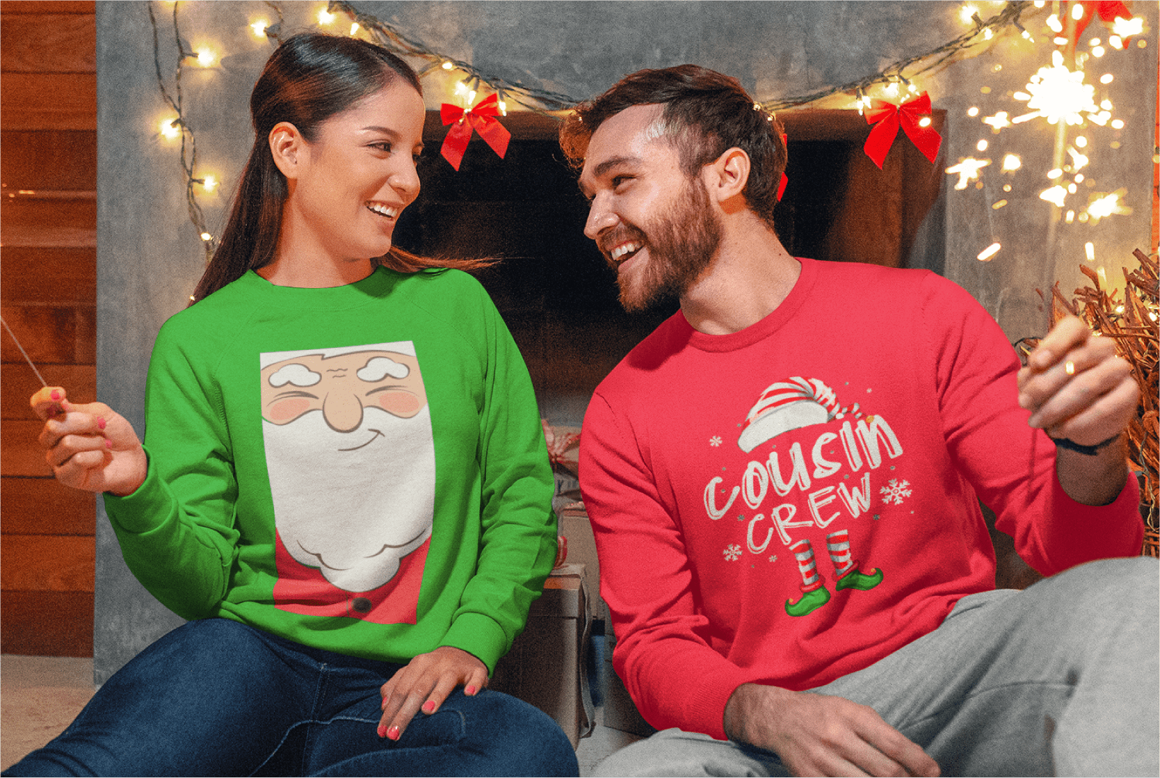 Custom Products Ugly Christmas Sweaters