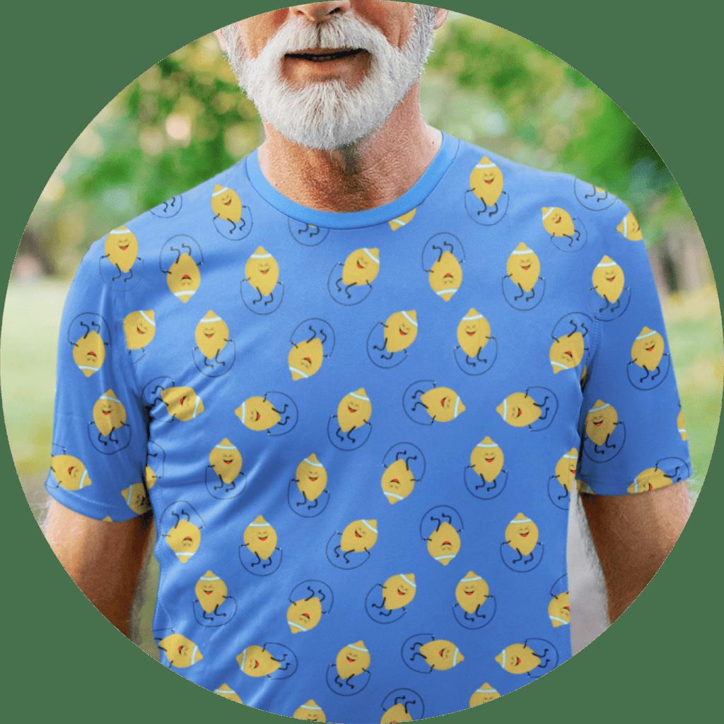 Funny AOP T-shirt