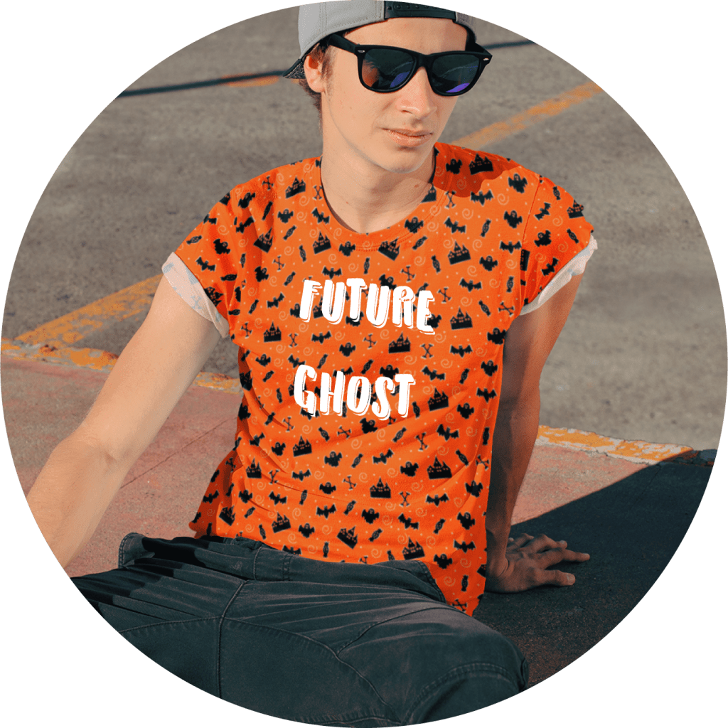 Halloween All Over Print Design