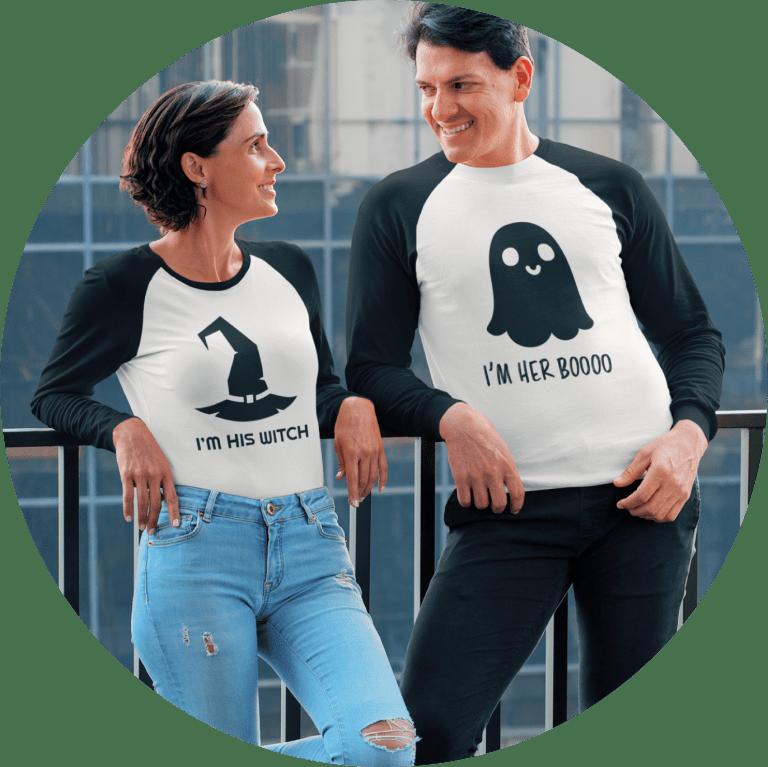 Halloween Couples' Shirts