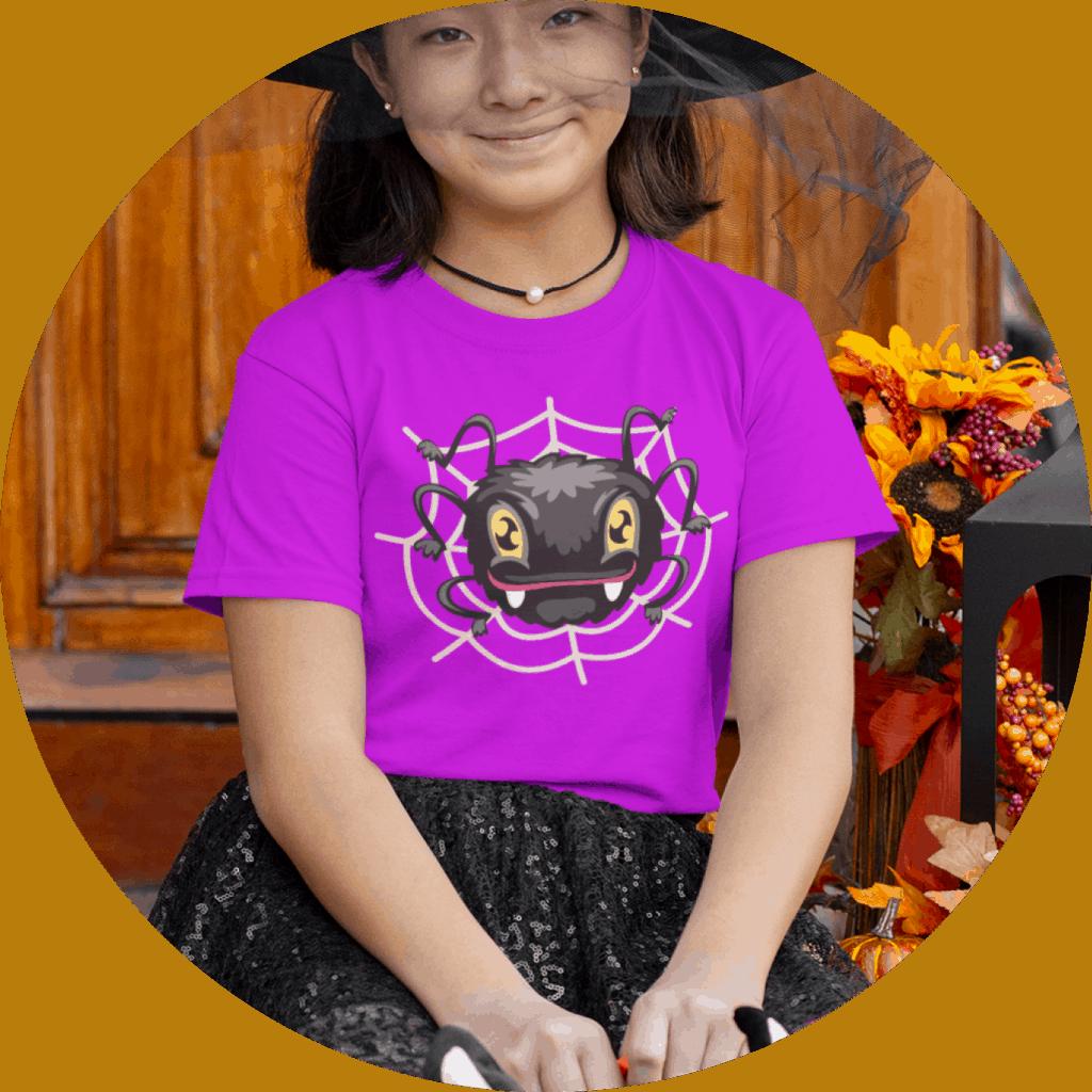 Halloween Kids Tshit Design