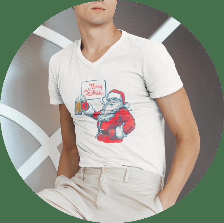 Mens Christmas T-shirt
