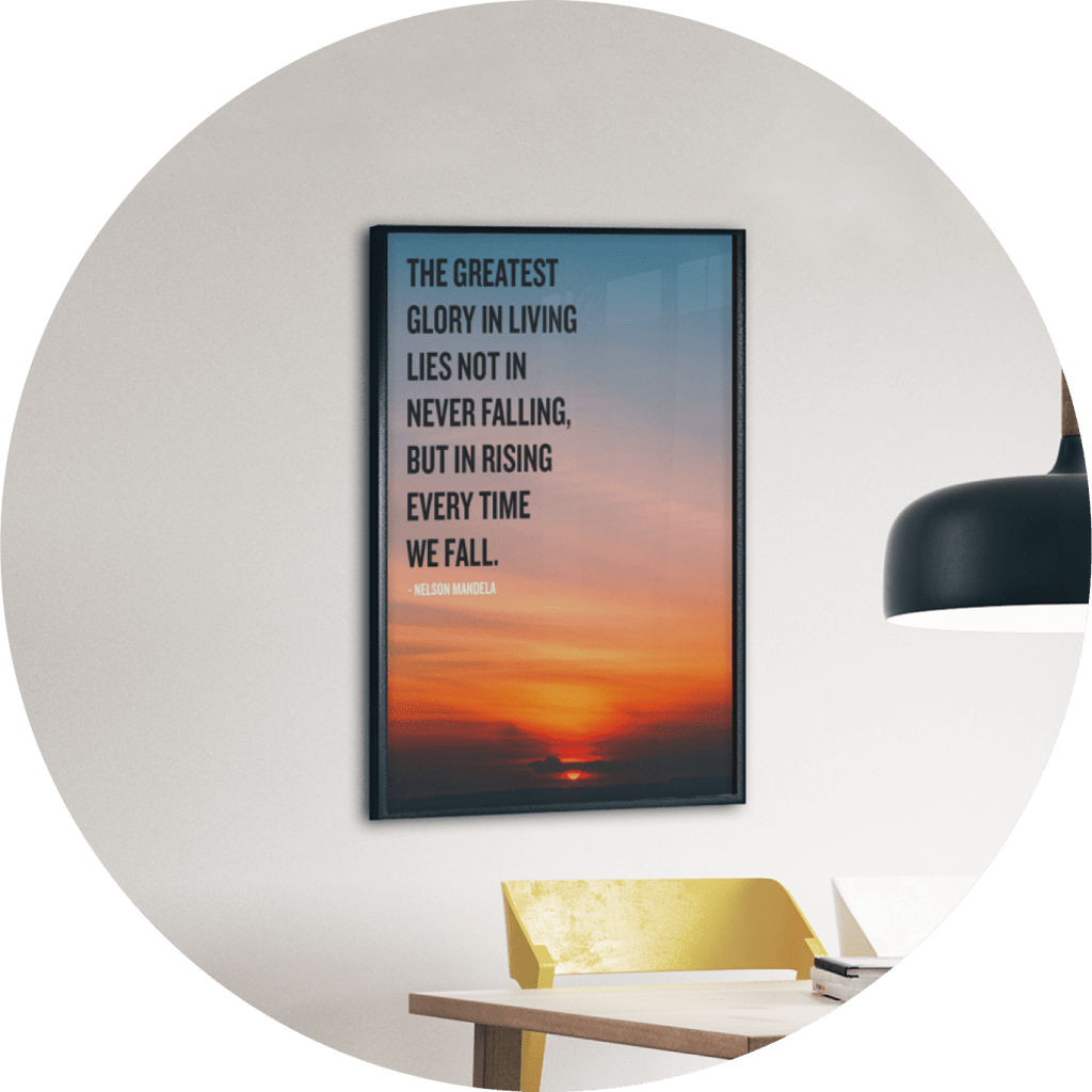 motivational posters with words