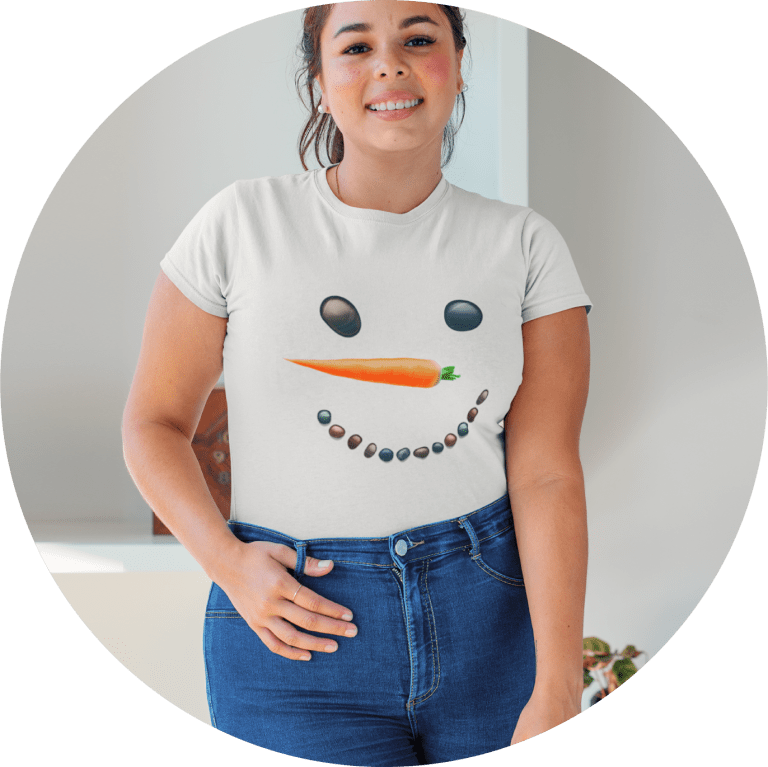 Plus Size Christmas-T-shirt