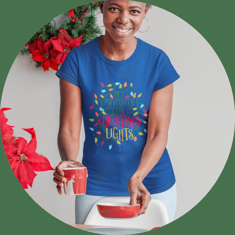 Womens Christmas T-shirt