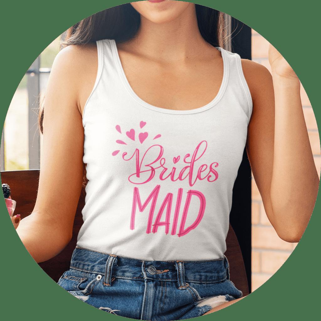 Bachelorette Shirts Bridesmaids Tank Top