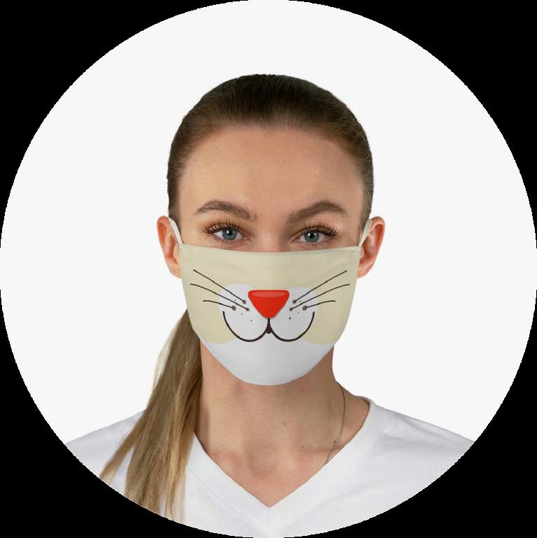 Custom Face Mask Custom Fabric Face Mask