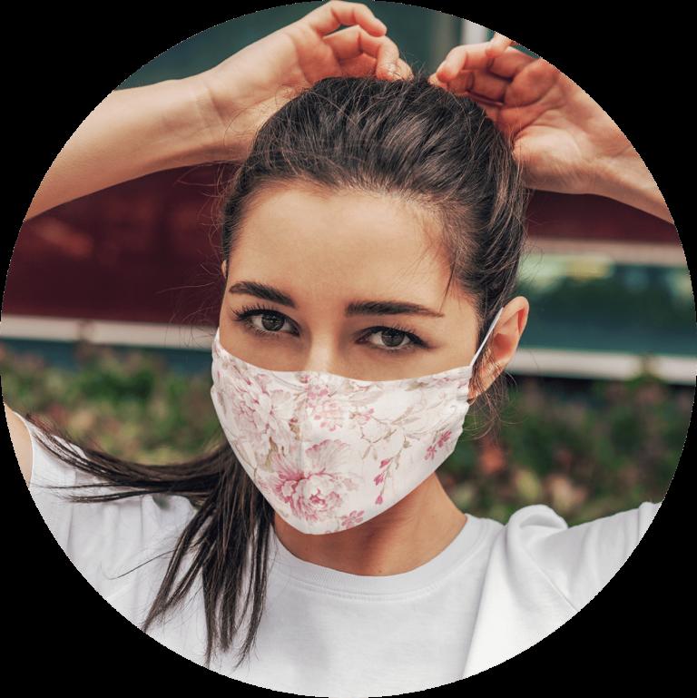 Custom Face Mask Neutral Design