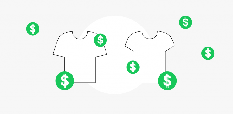 Custom T-shirts And T-shirt Printing Costs