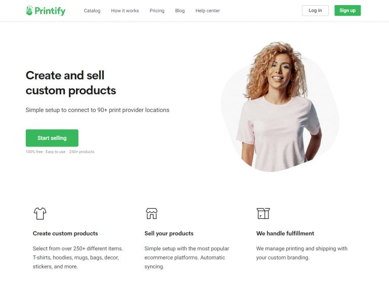 Custom T-shirts And T-shirt Printing Create Printify Account