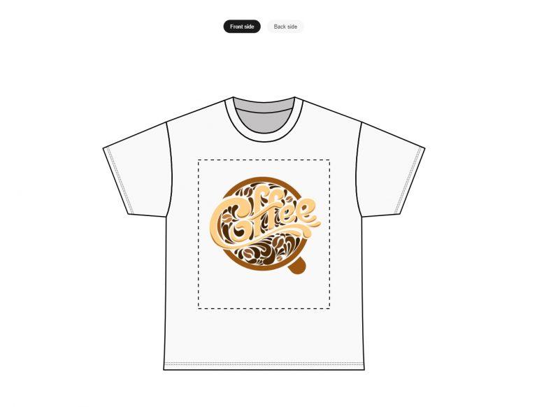 Custom T-shirts And T-shirt Printing Mock It Up