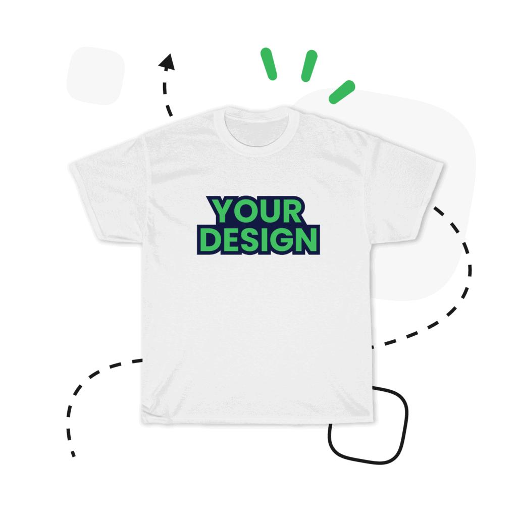 Custom T-shirts And T-shirt Printing With No Minimum