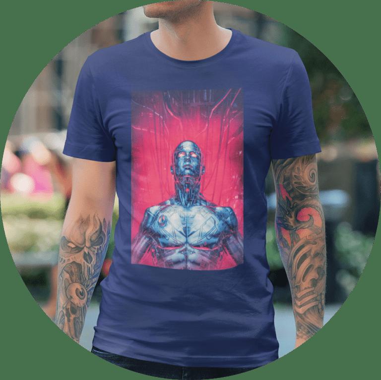 Fantasy T-shirts Futuristic Fantasy