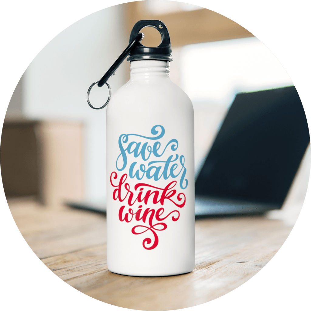 Personalized Gifts For Her Water Bottle