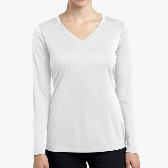 Women's Long Sleeve Performance V-neck Tee