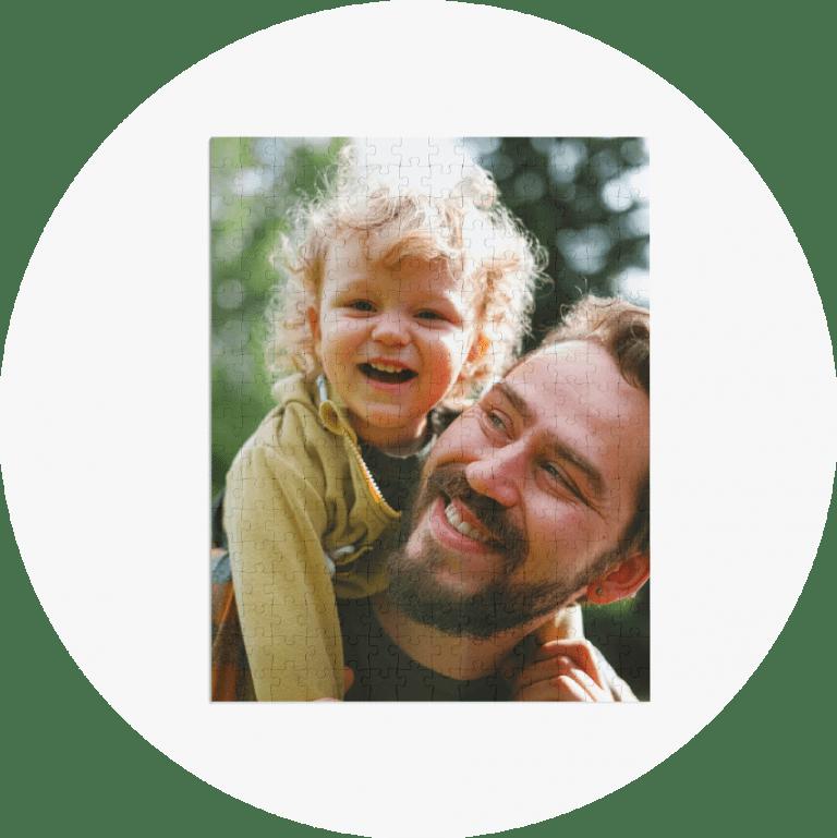 Personalized Photo Puzzles Family Portrait
