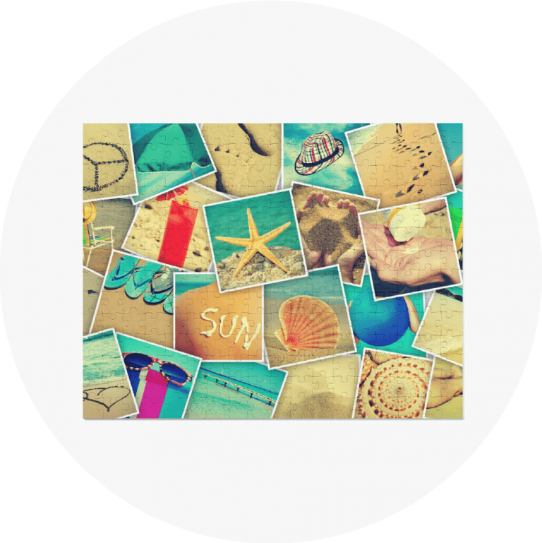 Personalized Photo Puzzles Photo Mosaic