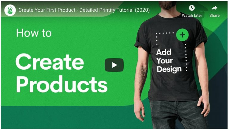 Print On Demand Create Products With Printify