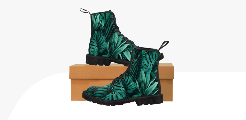 Winter Season Trending Products Custom Canvas Boots