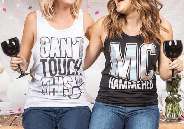 Funny Bachellorette T-shirts Hammer Time