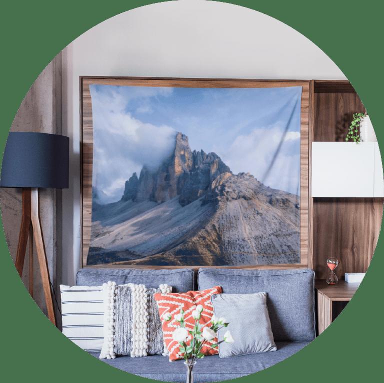 Custom Tapestry Landscape