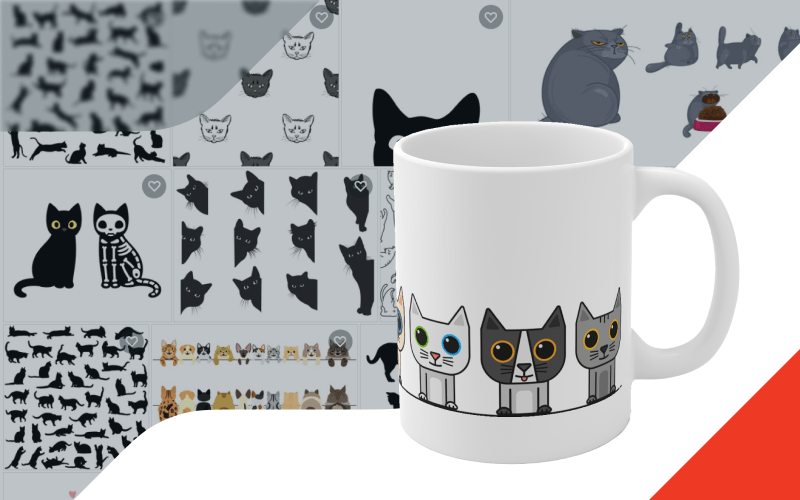 Printify Shutterstock Integration Custom Mugs