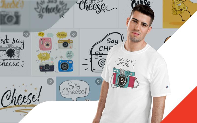 Printify Shutterstock Integration Custom T-shirts
